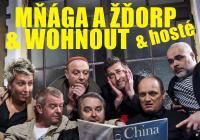 Mňága a Žďorp / Wohnout / Laura a její tygři - Amfiteátr Loket