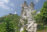 Přírodní památka Terasy Ještědu, Ještěd
