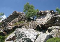 Skalní útvar Červený kámen