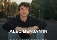 Alec Benjamin v Praze