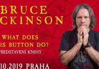 Bruce Dickinson v Praze