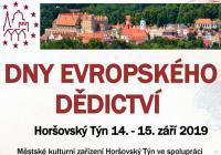 Dny evropského dědictví - Horšovský Týn