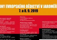 Dny evropského dědictví - Jaroměř