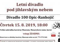 Letní divadlo pod jihlavským nebem 100 opic - Ranhojič