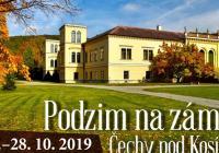 Podzim na zámku Čechy pod Kosířem