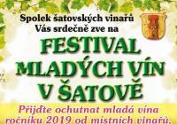 Festival mladých vín - Šatov