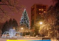 Nasvícení města Sezimovo Ústí