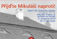 Mikuláš ve Viničním domku Praha