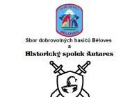 Pálení čarodějnic u hasičské zbrojnice v Bělovsi Náchod