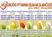 Velikonoční výtvarná dílna na Dlabačově - Praha