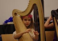 MAŽIF VIII Dívčí harfičkový soubor Harfičky