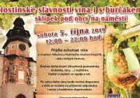 Hostinské slavnosti vína i s burčákem – sklípek pod obry Hostinné