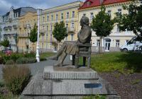 Bronzový pomník Johanna Wolfganga von Goetha, Mariánské Lázně