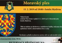 Moravský ples - Brno Kohoutovice