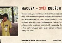 Macuya – svět rudých dřev