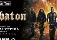 Sabaton + Apocalyptica + Amaranthe