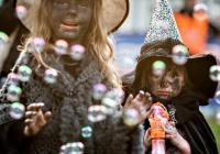 Pálení čarodějnic ve městě Štětí