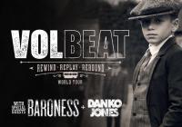 Volbeat + Baroness + Danko Jones v Praze
