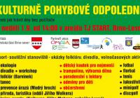 Kulturně-pohybové odpoledne - Brno Lesná