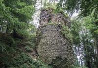 Zřícenina hradu Kynžvart, Lázně Kynžvart