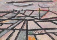 Obrazy Slavoje Kovaříka na zlínském zámku