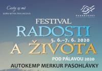 Festival Radosti a Života pod Pálavou 2020 - Přeloženo na 2021