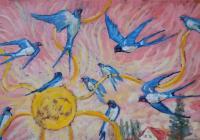 Výstava obrazů - Magdalena Křenková Florianová