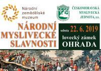 Národní myslivecké slavnosti - Zámek Ohrada