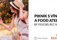 Piknik s vínem a Food Atelier na Folkloru bez hranic