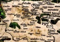 Mikuláš Klaudyán / první mapa Čech 1518