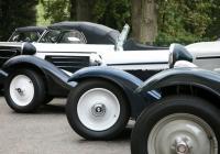 Historické automobily na náměšťském zámku