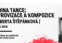 Workshop: Roberta Štěpánková: Hodina tance: Improvizace a kompozice