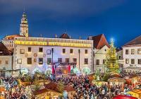 Rozsvícení vánočního stromu - Český Krumlov