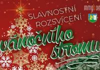 Rozsvícení vánočního stromu - Břeclav