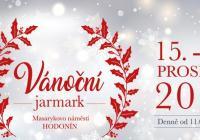 Vánoční jarmark ve městě Hodonín
