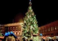 Rozsvícení vánočního stromu - Karlovy Vary