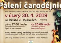Pálení čarodějnic - Brno Tuřany