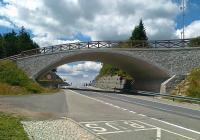 Most pro turisty a lyžaře na Červenohorském sedle