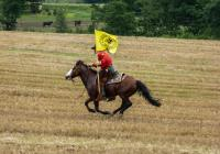 Poštovní úřad Pony Expressu na nádvoří hradu Švihov