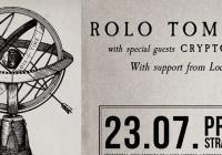 Rolo Tomassi / Cryptodira / Loathe - Praha