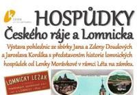 Hospůdky Českého ráje a Lomnicka - Zámek Lomnice nad Popelkou