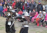 Rytířský turnaj na hradě Orlík nad Humpolcem