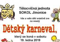 Karneval pro děti - Praha Jinonice