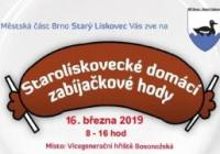 Starolískovecké domácí zabíjačkové hody - Brno