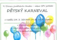 Karneval pro děti v Jindřichově Hradci
