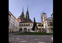 Open air scéna na Biskupském dvoře - Brno