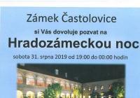 Hradozámecká noc na zámku Častolovice