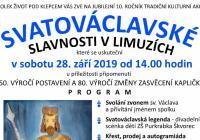 Svatováclavské slavnosti v Limuzích - Praha
