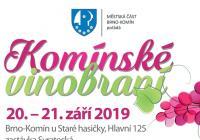 Vinobraní v Komíně - Brno