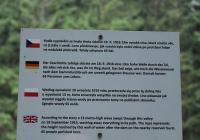 Vyhlídka na výšku hladiny z protržené přehrady, Albrechtice v Jizerských horách